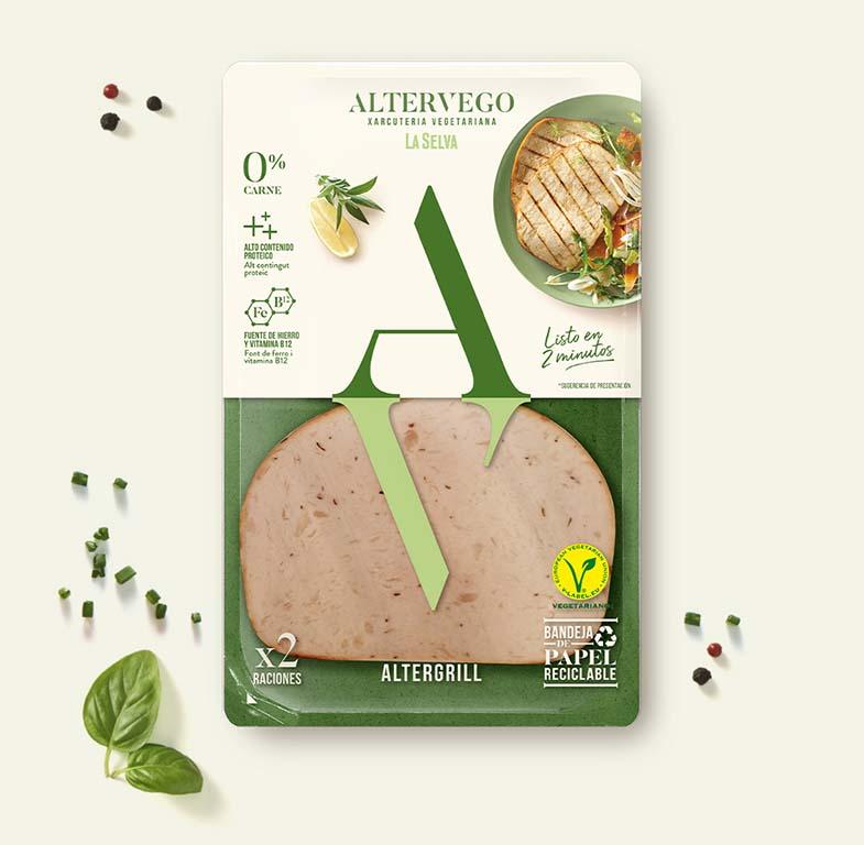 Vuelta y vuelta vegetariano AlterGrill