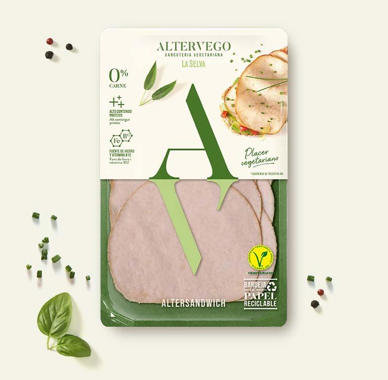 Pavo vegetariano AlterSandwich